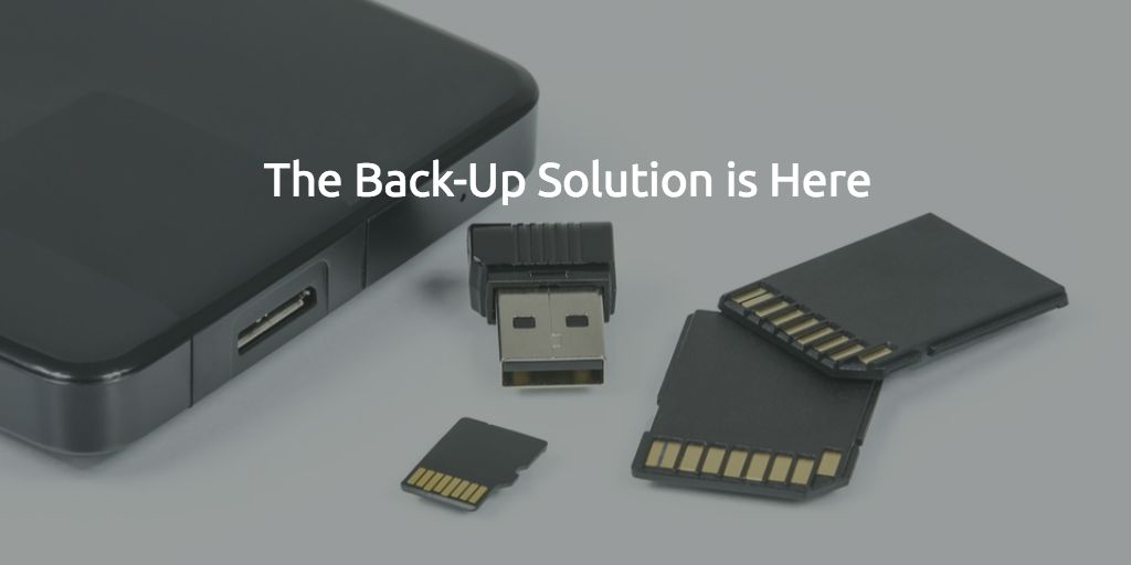 An Easy Backup Solution